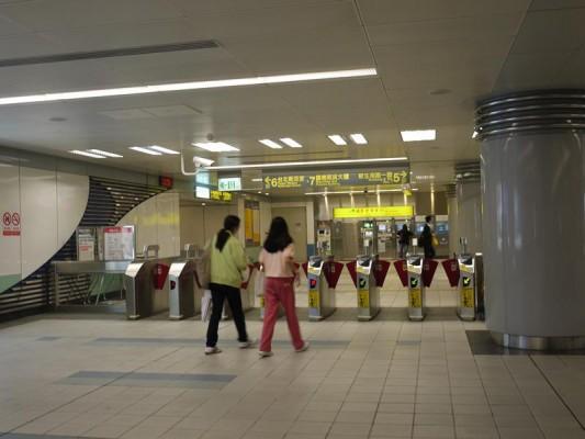 MRT改札