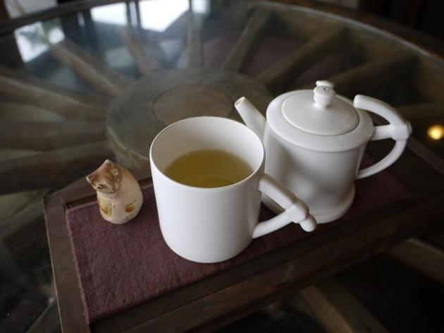 水心月茶坊の高山烏龍茶