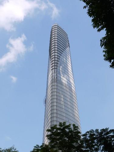 ホーチミンの高層ビル