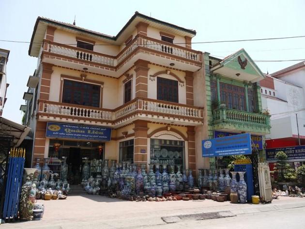 バッチャン村の建物