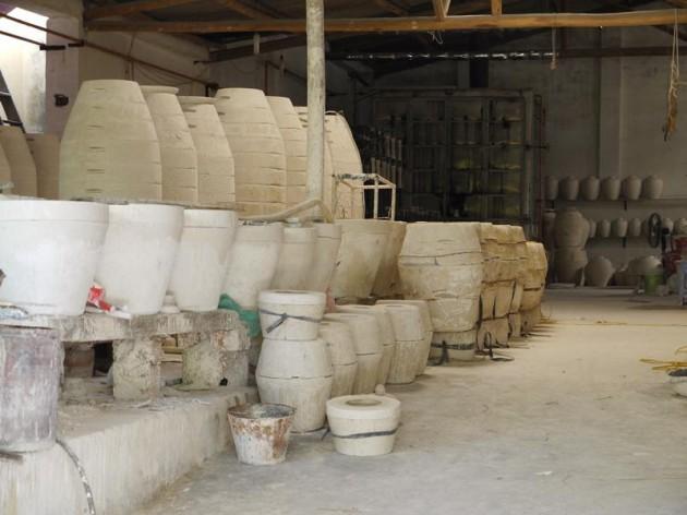 バッチャン村の工房