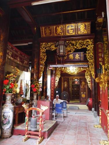ハノイのお寺