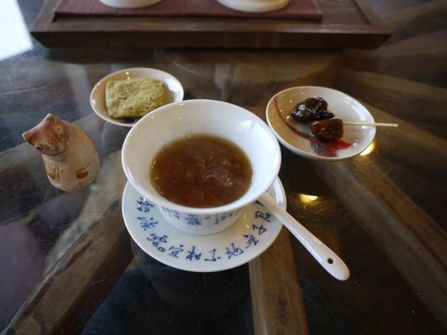 水心月茶坊のデザート