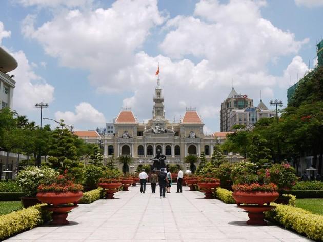ホーチミン人民委員会庁舎