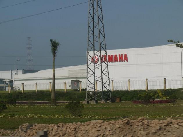 ハノイのYAMAHA工場