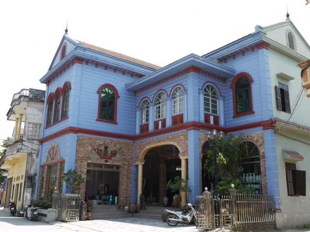 バッチャン村の家