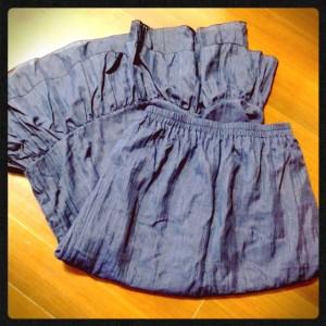 オーダーメイドのスカート